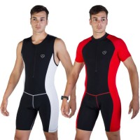 Cycling padded skin suit