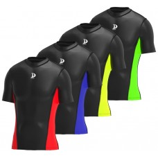 Compression armour base layer half sleeve