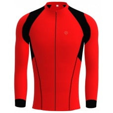 Thermal cycling long sleeve jersey