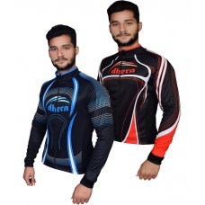 Men's cycling long sleeve thermal jersey